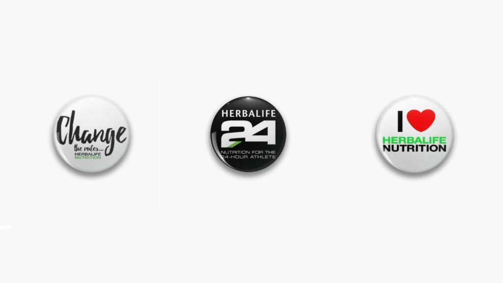 Spille Herbalife personalizzate