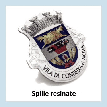 Spille resinate personalizzate